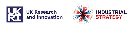 UKRI industrial strategy logo